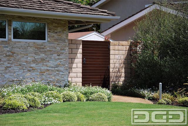 Custom Garden Gate For Mid Century Or