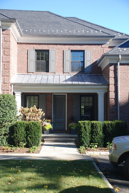 Custom Georgian Colonial Home Entry Other Metro By