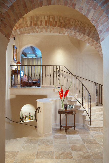 Custom Home Desert Mountain Scottsdale AZ mediterranean-entry