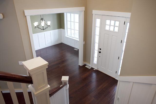 Custom Home - Draper traditional-entry