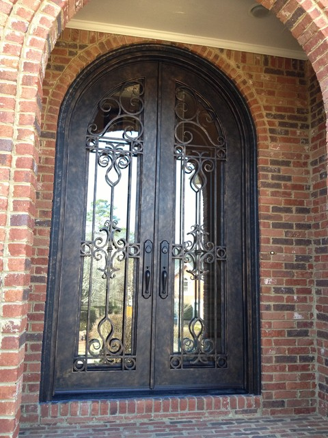 Custom Iron Door Traditional Entry Atlanta By Window Traditions Of Georgia