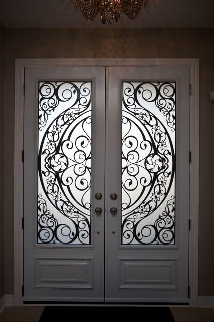 Custom Lasercut Metal Doors