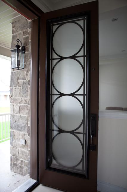 Custom lasercut metal doors entry other metro by for Steel door design