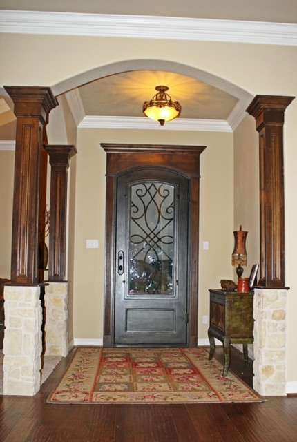 Custom Residence Highland Oaks 2012 traditional-entry