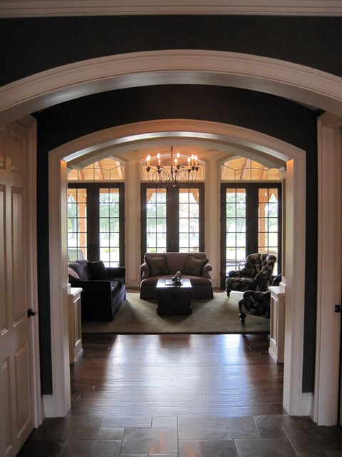 Custom residence, Lake Forest, Illinois traditional-entry