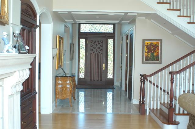 Custom Residences - Traditional - Entry - detroit - by Usztan, LLC