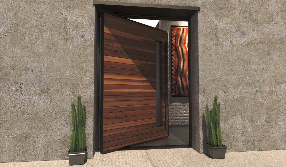 75 Beautiful Modern Front Door Pictures Ideas February 2021 Houzz