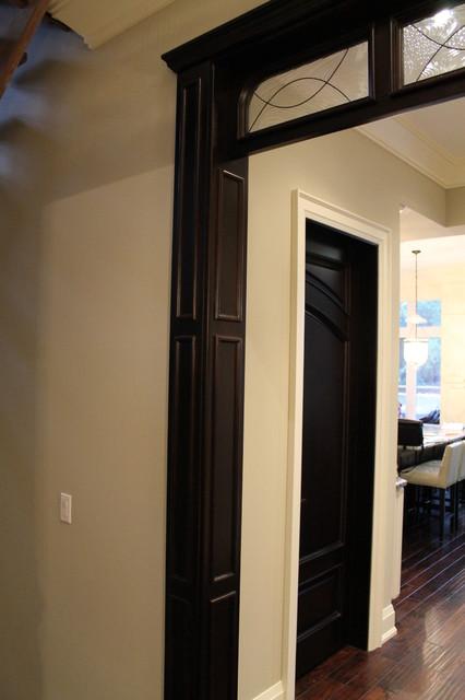Custom wood interior doors project contemporary-entry