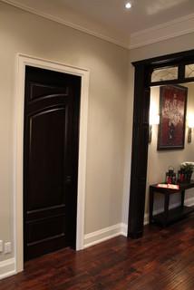 Custom Wood Interior Doors Project Contemporary Entry