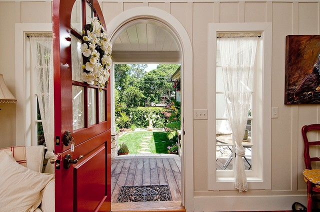 Debra Campbell Design rustic entry