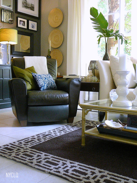 Decorating With Palm Fronds - NYCLQ-FOCALPOINT.blogspot.com contemporary-entry