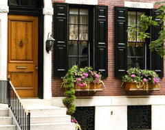 Delancey Place Townhouse traditional-exterior