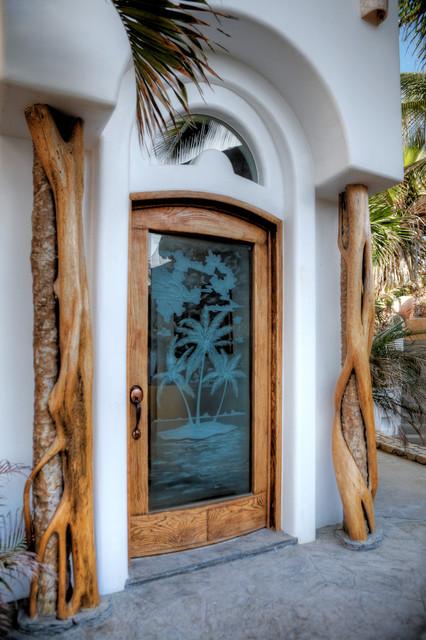 Design/Build by Salina del Mar tropical-entry
