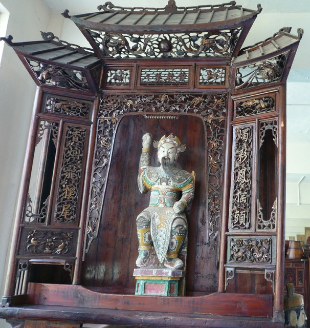 Green Antiques - Chinese Antique Shrines - Projects asian-entry