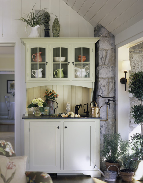 Designer Cottage farmhouse-entry