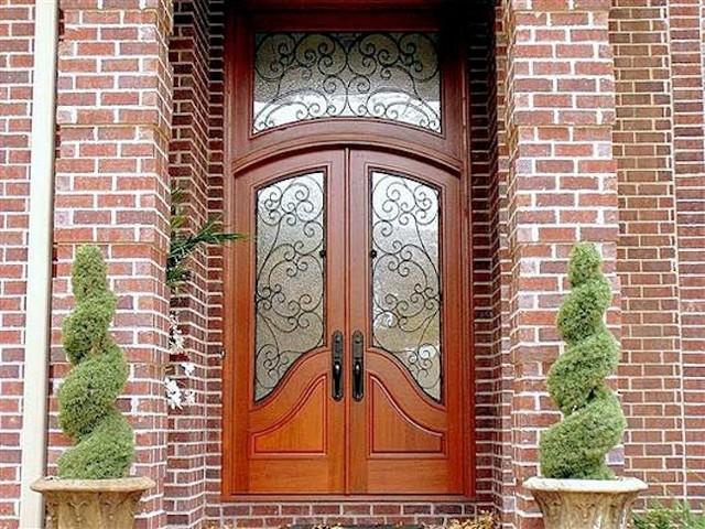Designer Series Contemporary Front Door In Houston TX Contemporary Entry