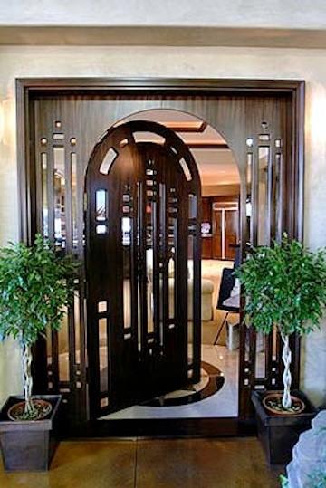 Designer Series Transitional Door In Houston TX Transitional Entry Hou
