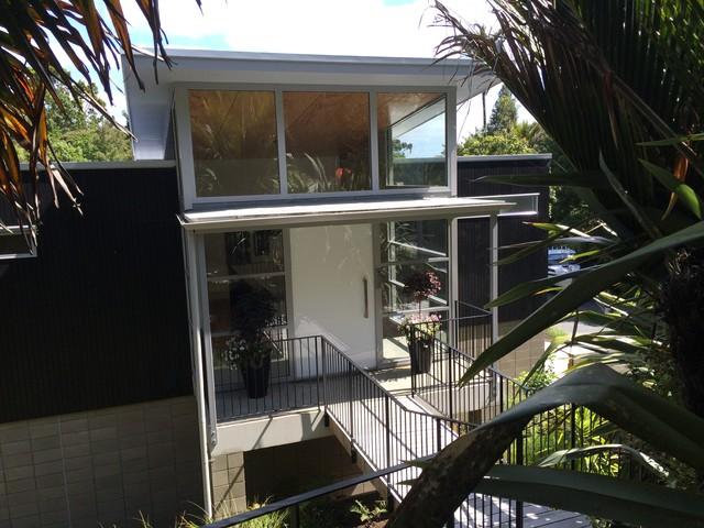 Designers own home contemporary-entry