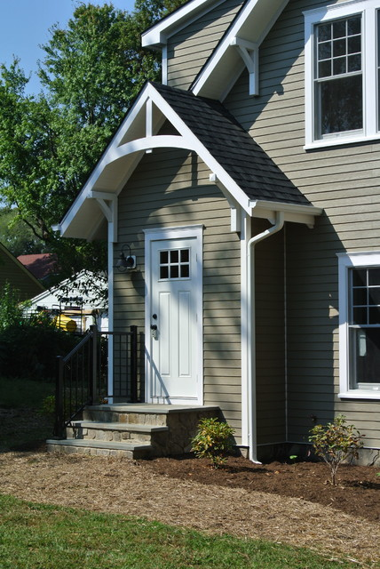 Detached Garage With Apartment Craftsman Garage And Shed Baltimore By Consynigy Renovations