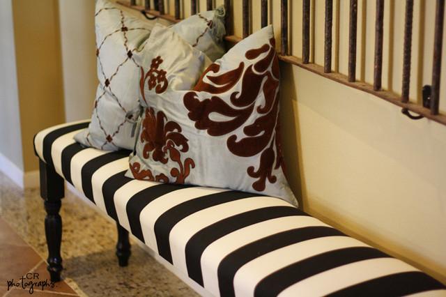 DIY Ballard bench traditional-entry