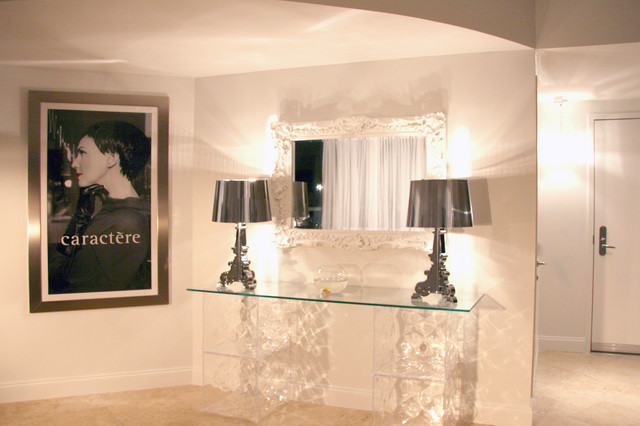 DKOR Interiors - Interior design at the ICON Building in South Beach, FL entry