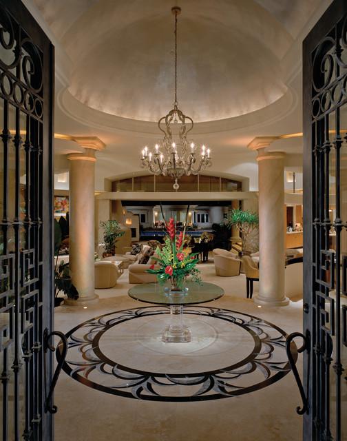 Doni Flanigan Interior Design Artist mediterranean-entry
