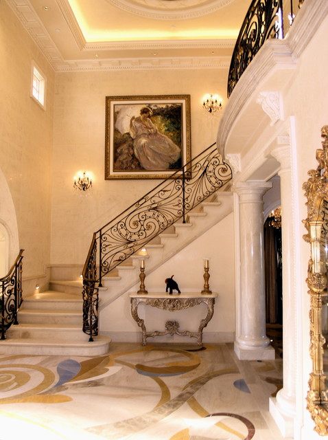 Doni Flanigan Interior Design Artist traditional-entry