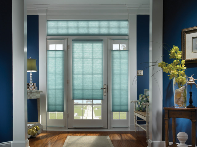 Door shades add privacy and color traditional-entry & Door shades add privacy and color - Traditional - Entry ... Pezcame.Com
