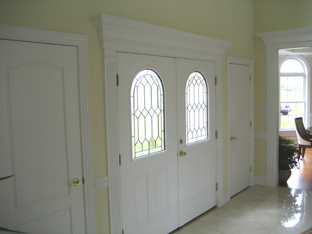 Door surrounds traditional-entry