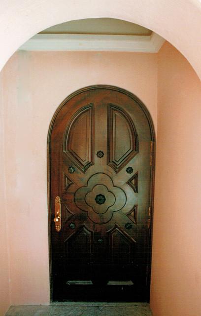 Door to equipment room tropical-entry