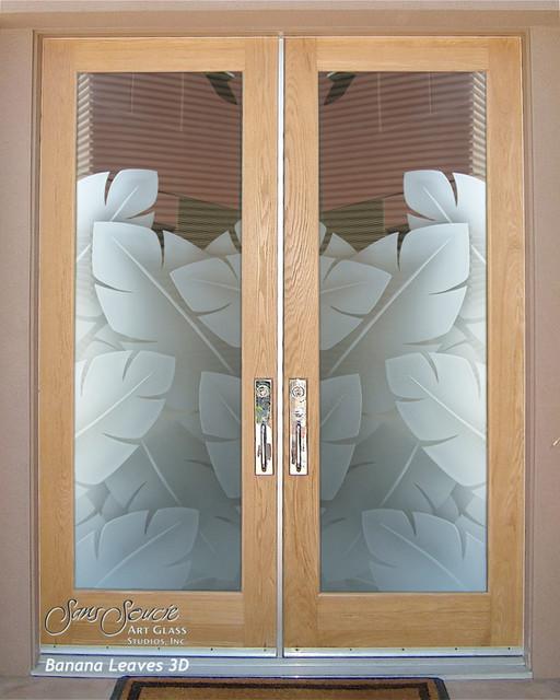 Double Entry Doors Glass Front Doors Exterior Glass