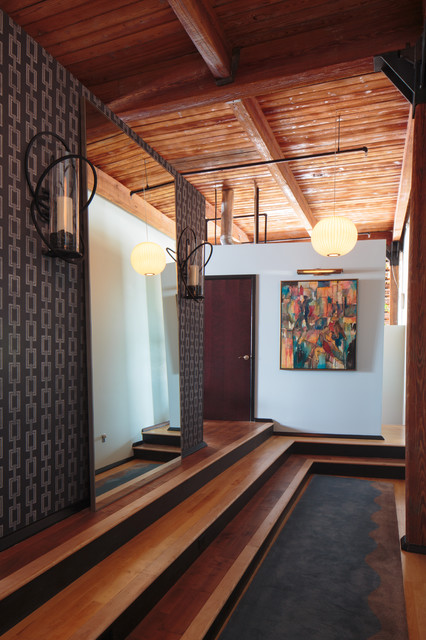 Downtown Loft // Knoxville, TN for Todd Richesin Interiors contemporary-entry