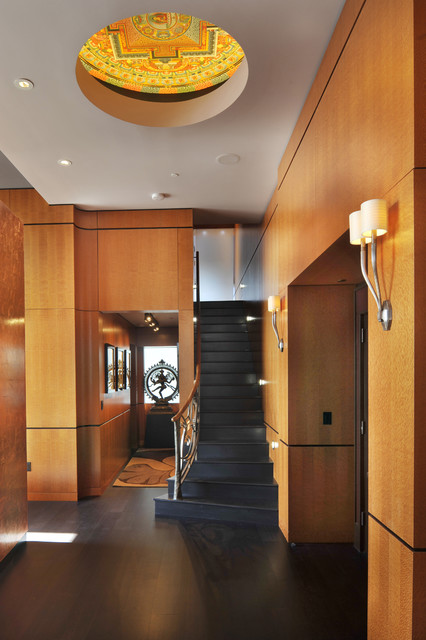 Downtown penthouse contemporary-entry