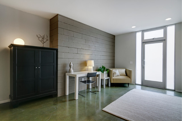 Downtown San Diego Loft Space contemporary-entry