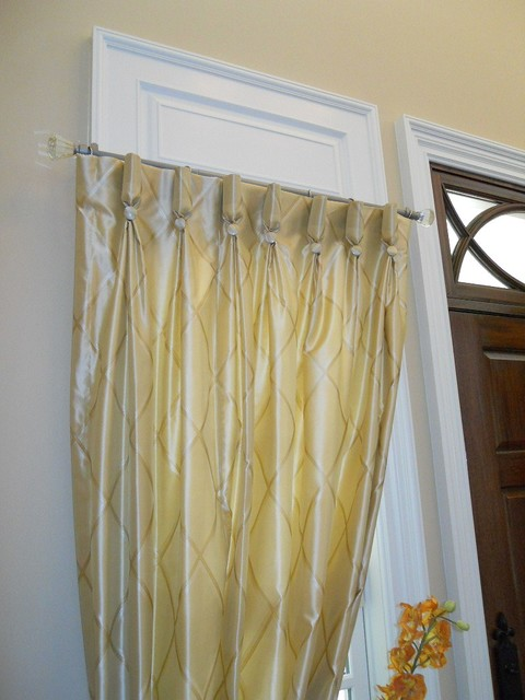 drapes traditional-entry