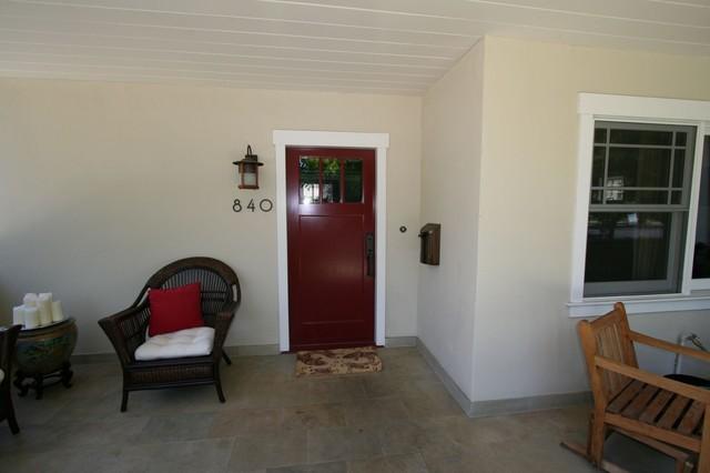 Duggan residence craftsman-entry