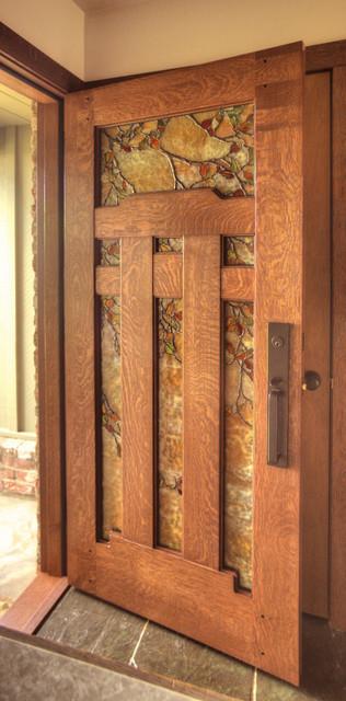 Dunsmuir entry arts crafts entrance san francisco for Arts and crafts front doors