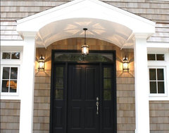 Dutch Colonial traditional entry