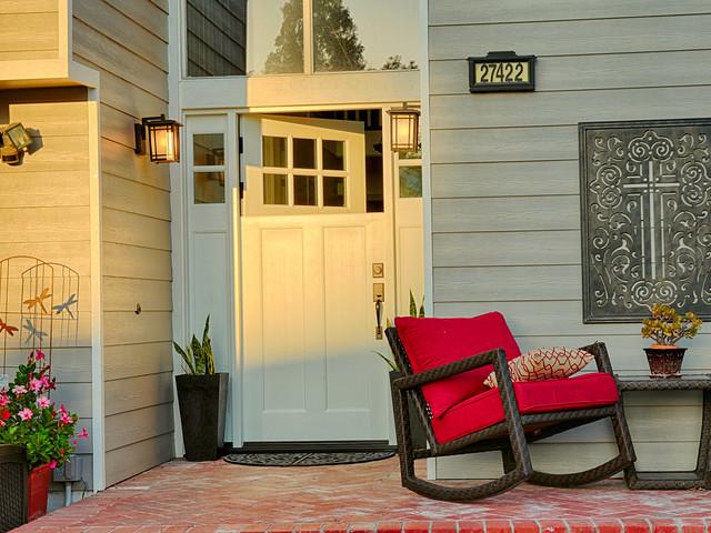 Dutch Door Designs Craftsman Entry Orange County