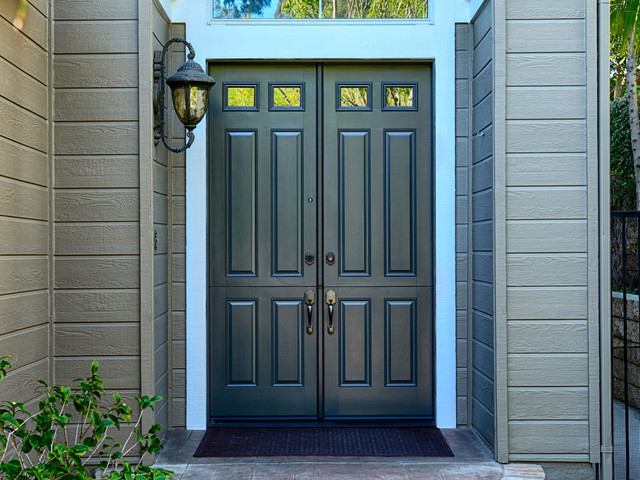 Dutch Doors Traditional Entry Orange County By