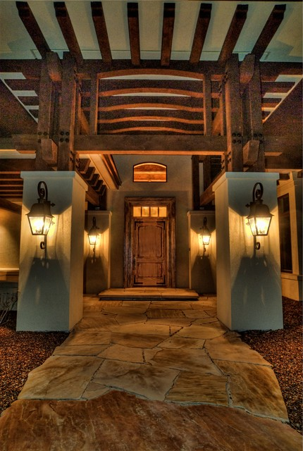 Eagle, Idaho Custom Home eclectic entry