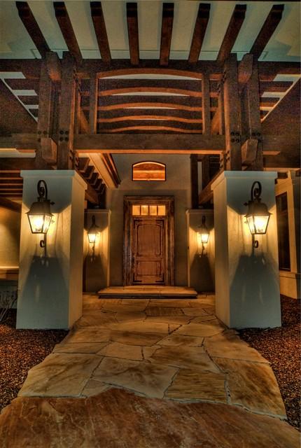 Eagle, Idaho Custom Home eclectic-entry