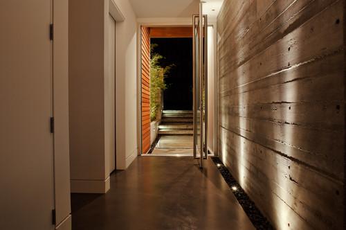 I Like The Wall Wash Lighting On The Concrete Wall Where
