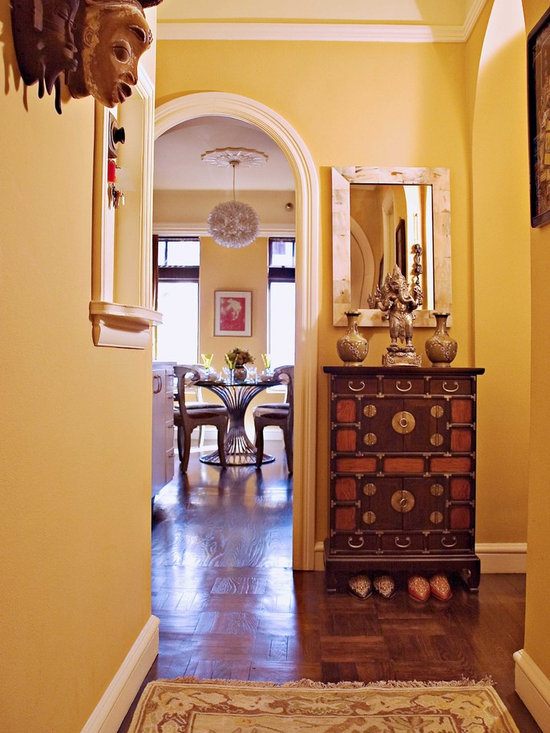 Yellow Foyer Ideas : Foyer wall paint home design ideas pictures remodel and