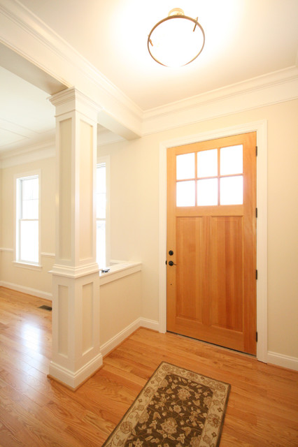 Edgfield House traditional-entry