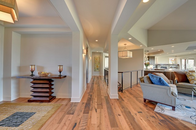 Edina Custom Home contemporary-entry