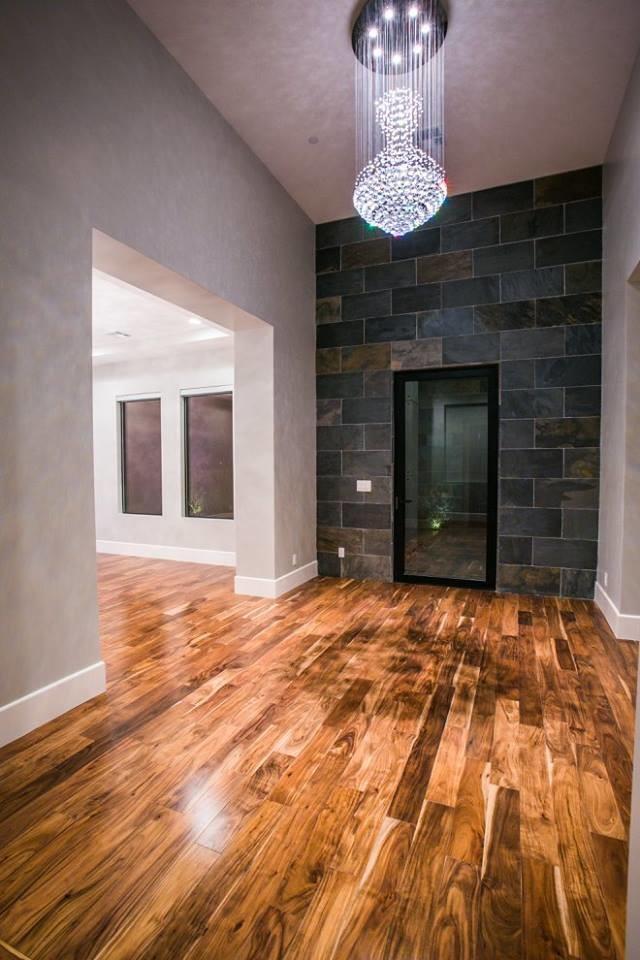 Entryway - contemporary entryway idea in Las Vegas