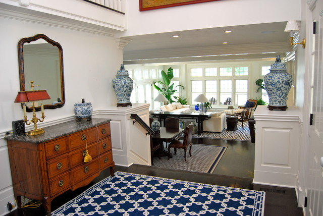Elegance on the South Cove traditional-entry
