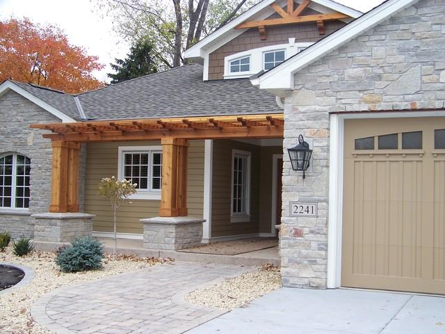 Elegant Entry craftsman-entry
