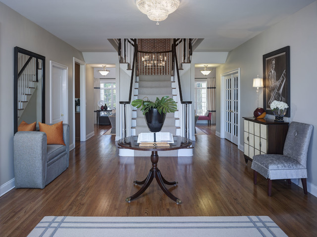 Elegant Modern Foyer : Elegant foyer contemporary entry philadelphia by